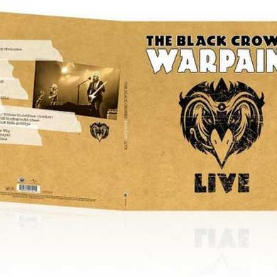 The Black Crowes WARPAINT LIVE Vinyl Record