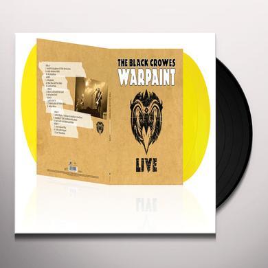 Black Crowes WARPAINT LIVE Vinyl Record - Gatefold Sleeve