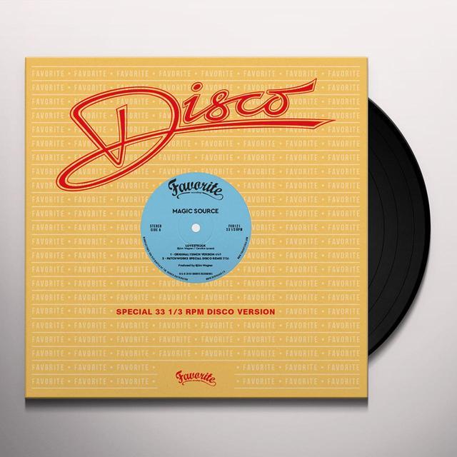 MAGIC SOURCE LOVESTRUCK Vinyl Record