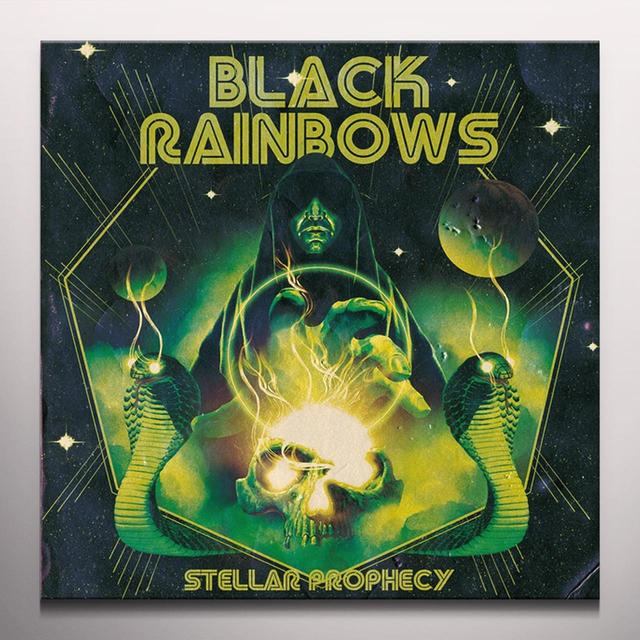 BLACK RAINBOWS STELLAR PROPHECY Vinyl Record - Colored Vinyl