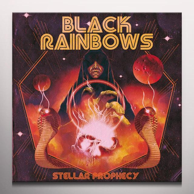 BLACK RAINBOWS STELLAR PROPHECY Vinyl Record - Colored Vinyl, Limited Edition, Orange Vinyl