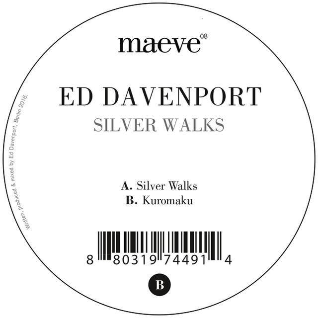 Ed Davenport SILVER WALKS Vinyl Record