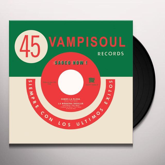 LA MAQUINA INSULAR SOMOS LA PLENA / VEN A BAILAR Vinyl Record