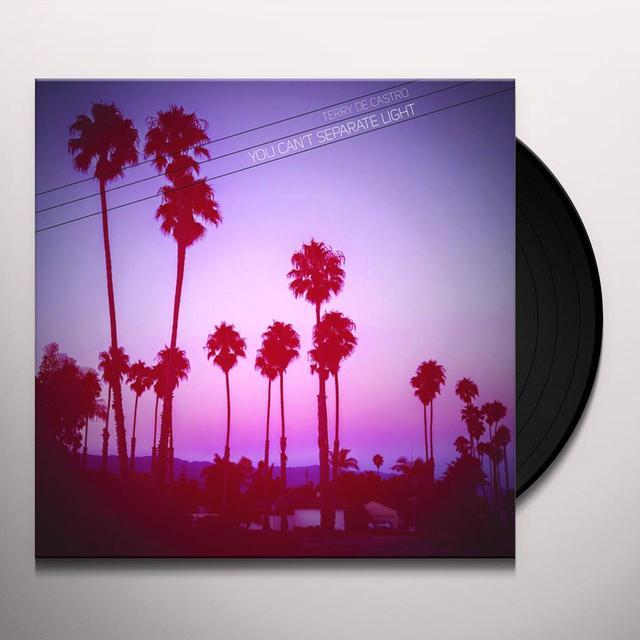 Terry De Castro YOU CAN'T SEPARATE LIGHT Vinyl Record - 10 Inch Single