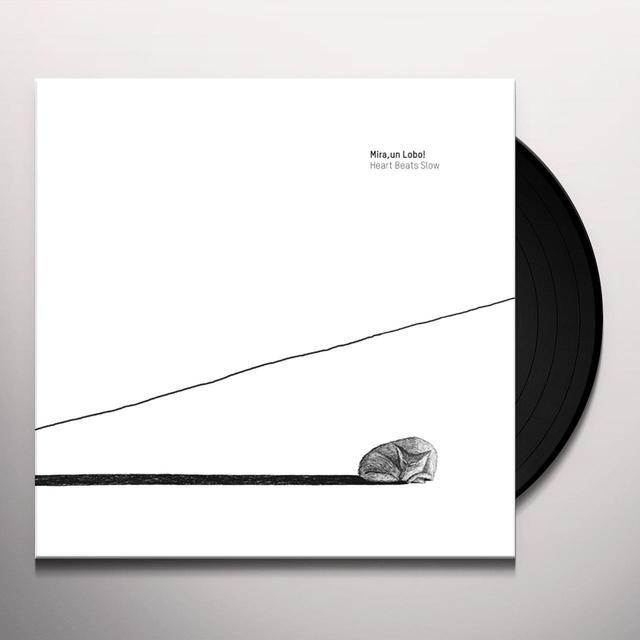 Un Lobo Mira HEART BEATS SLOW Vinyl Record - w/CD