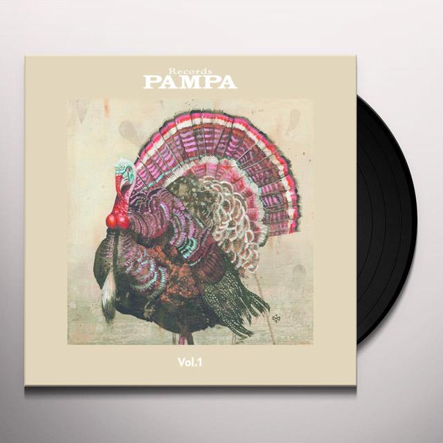 Dj Koze PAMPA 1 Vinyl Record
