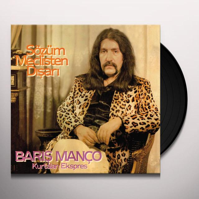 Baris Manco / Kurtalan Ekspres SOZUM MECLISTEN DISARI Vinyl Record