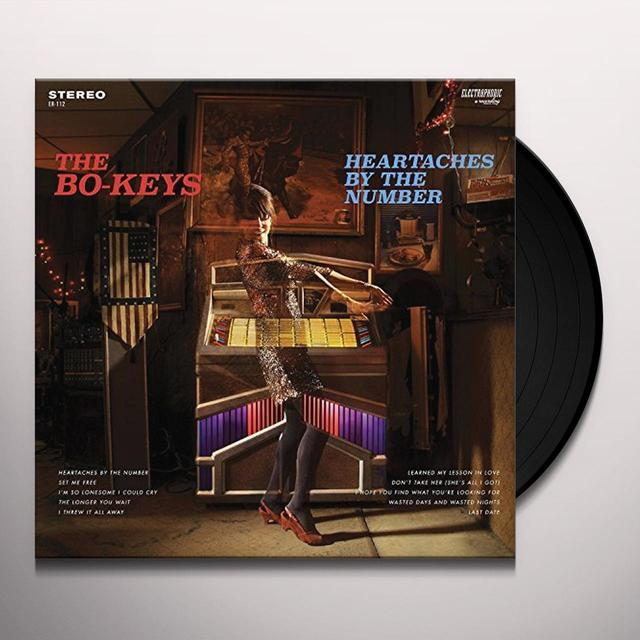 The Bo-Keys HEARTACHES BY THE NUMBER Vinyl Record