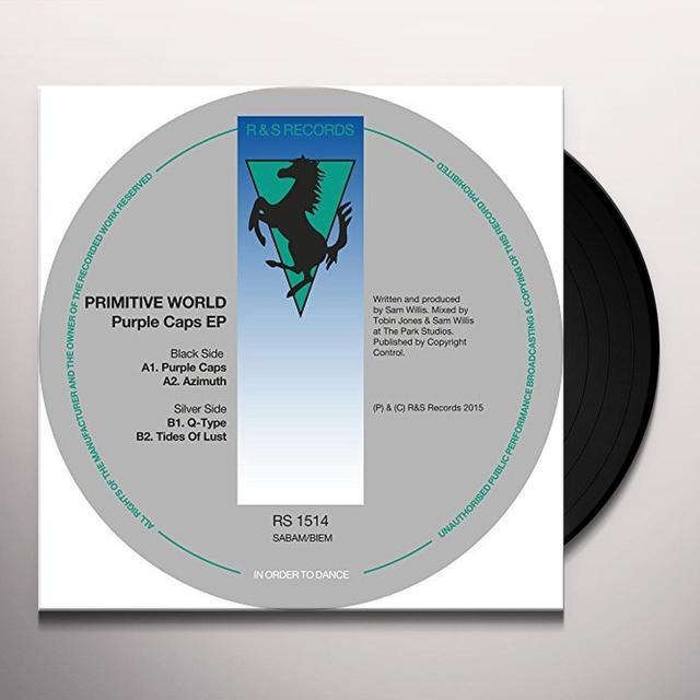 Primitive World PURPLE CAPS Vinyl Record