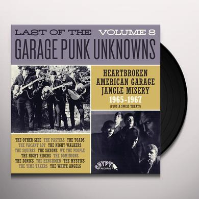 LAST OF THE GARAGE PUNK UNKNOWNS 8 / VARIOUS Vinyl Record