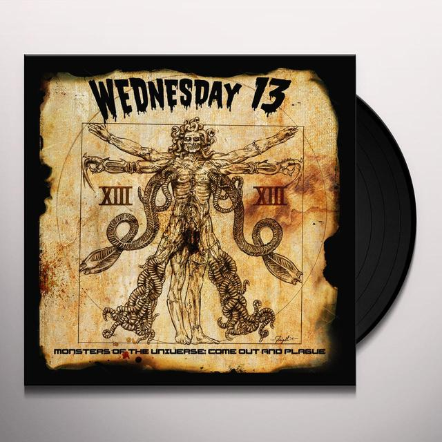 Wednesday 13 MONSTERS OF THE UNIVERSE: COME OUT & PLAGUE Vinyl Record