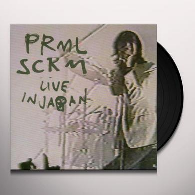 Primal Scream LIVE IN JAPAN Vinyl Record
