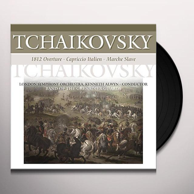 Pjotr Ilyich Tchaikovsky 1812 OVERTURE / CARPRICCIO ITALIEN / MARCHE SLAVE Vinyl Record