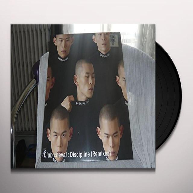 Club Cheval DISCIPLINE (REMIXES) Vinyl Record - Portugal Import