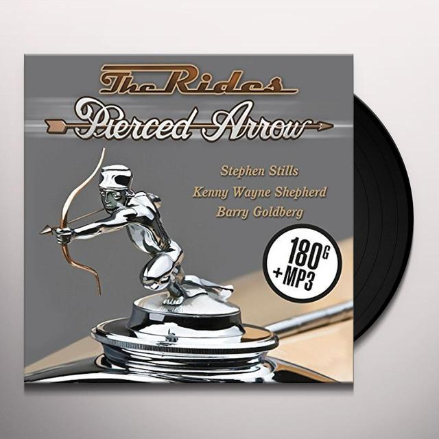 Rides PIERCED ARROW Vinyl Record - UK Import