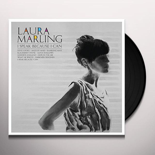 Laura Marling I SPEAK BECAUSE I CAN Vinyl Record