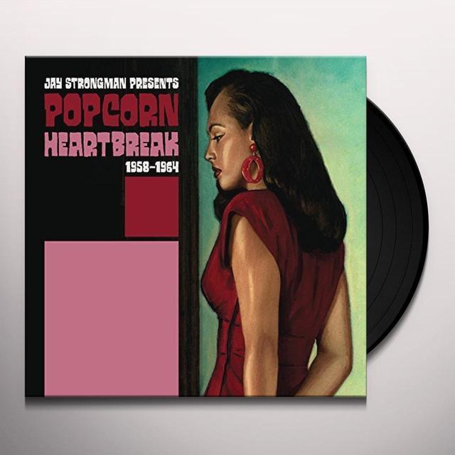 JAY STRONGMAN PRESENTS POPCORN HEARTBREAK / VAR Vinyl Record
