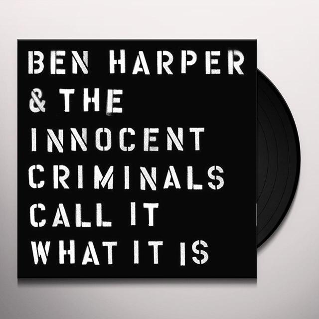 Ben Harper & The Innocent Criminals CALL IT WHAT IT IS (WSV) Vinyl Record - UK Import