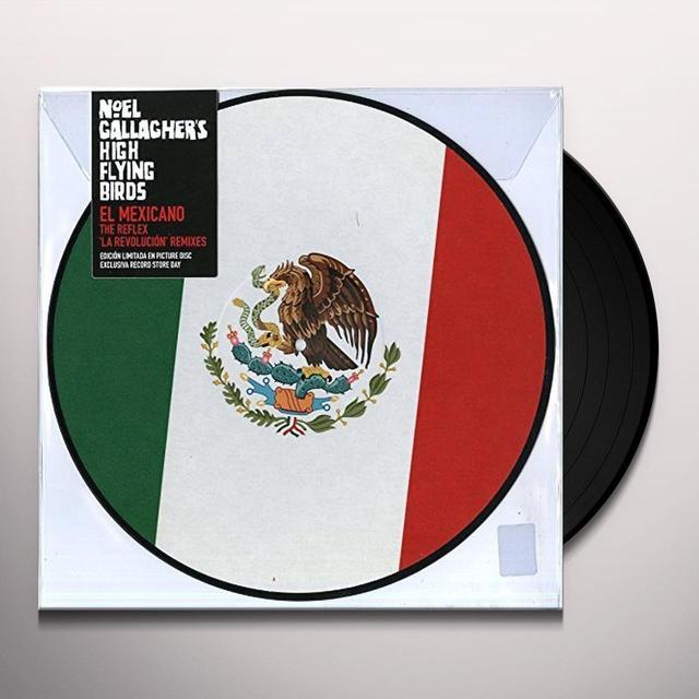 NGHFB EL MEXICANO: REFLEX LA REVOLUCION REMIXES Vinyl Record - Picture Disc