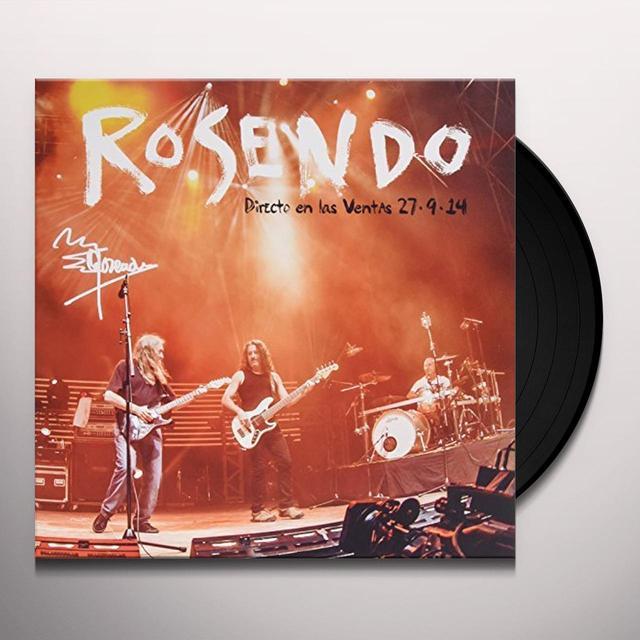 Rosendo DIRECTO LAS VENTAS Vinyl Record - w/CD, Spain Import
