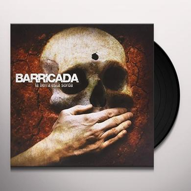 Barricada LA TIERRA ESTA SORDA Vinyl Record - w/CD, Spain Import