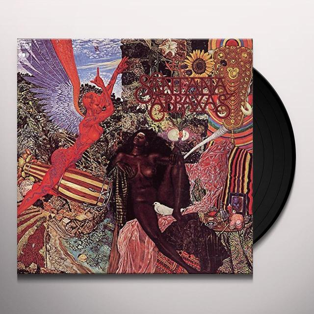 Santana ABRAXAS Vinyl Record - Portugal Import