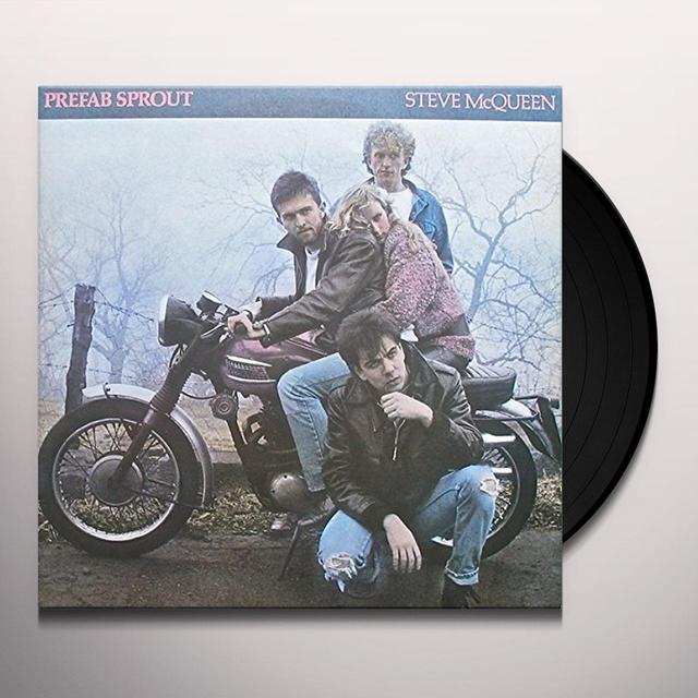 Prefab Sprout STEVE MCQUEEN Vinyl Record - Portugal Import