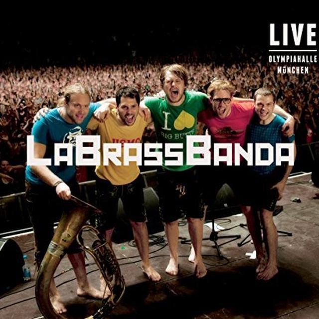 Labrassbanda LIVE OLYMPIAHALLE MUNCHEN Vinyl Record