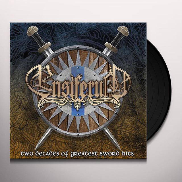Ensiferum TWO DECADES OF GREATEST SWORD HITS Vinyl Record
