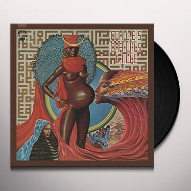 Miles Davis LIVE EVIL Vinyl Record - Holland Import