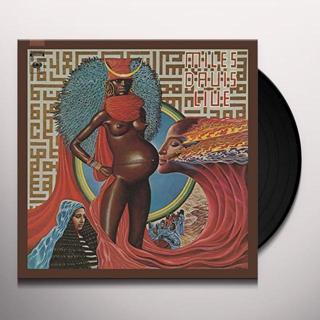 Miles Davis LIVE EVIL Vinyl Record
