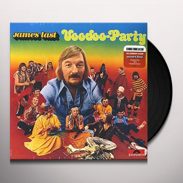 James Last VOODOO-PARTY Vinyl Record - Portugal Import