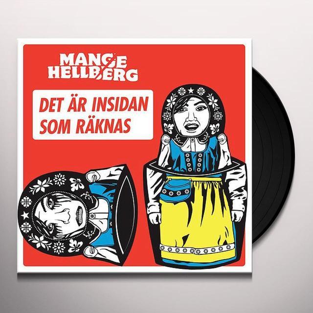 Mange Hellberg HELLBERG OCH DALBANA Vinyl Record