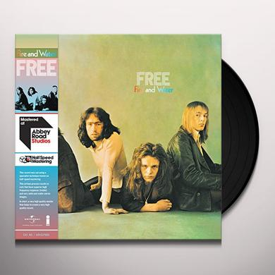 Free FIRE & WATER - HALF SPEED Vinyl Record