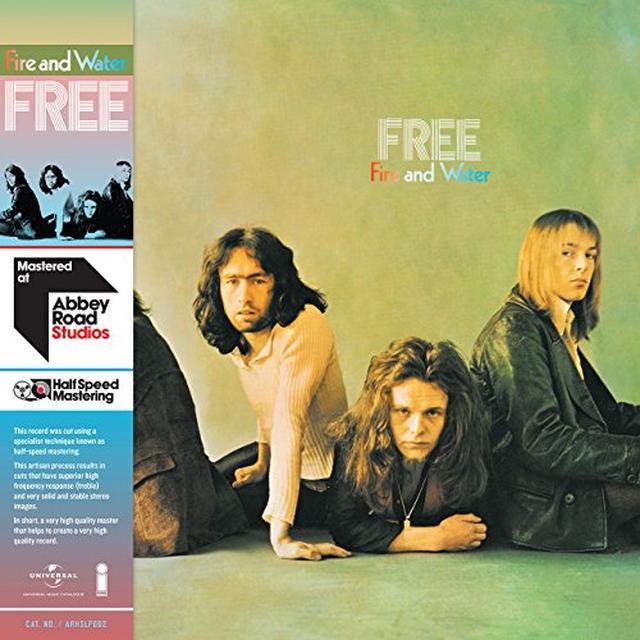 Free FIRE & WATER - HALF SPEED (HK) Vinyl Record