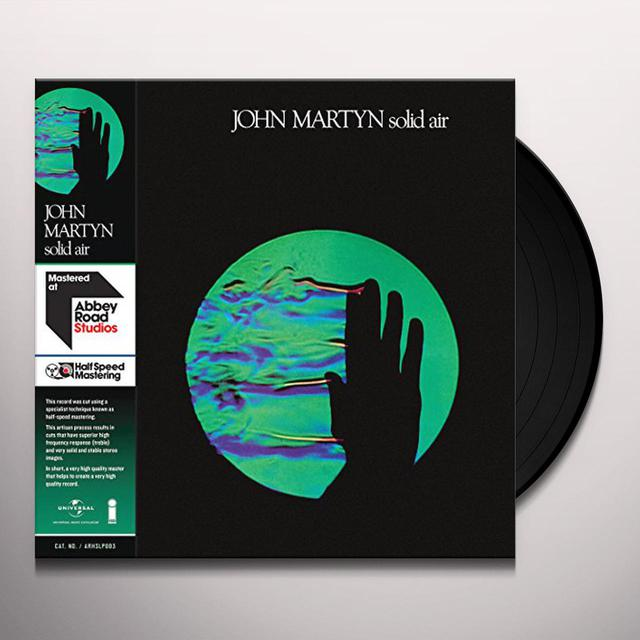 John Martyn SOLID AIR - HALF SPEED Vinyl Record