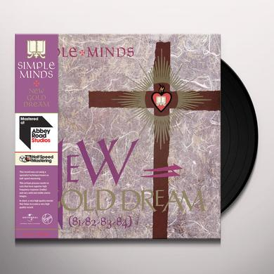 Simple Minds NEW GOLD DREAM - HALF SPEED (HK) Vinyl Record