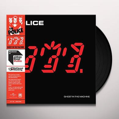 Police GHOST IN THE MACHINE - HALF SPEED (HK) Vinyl Record