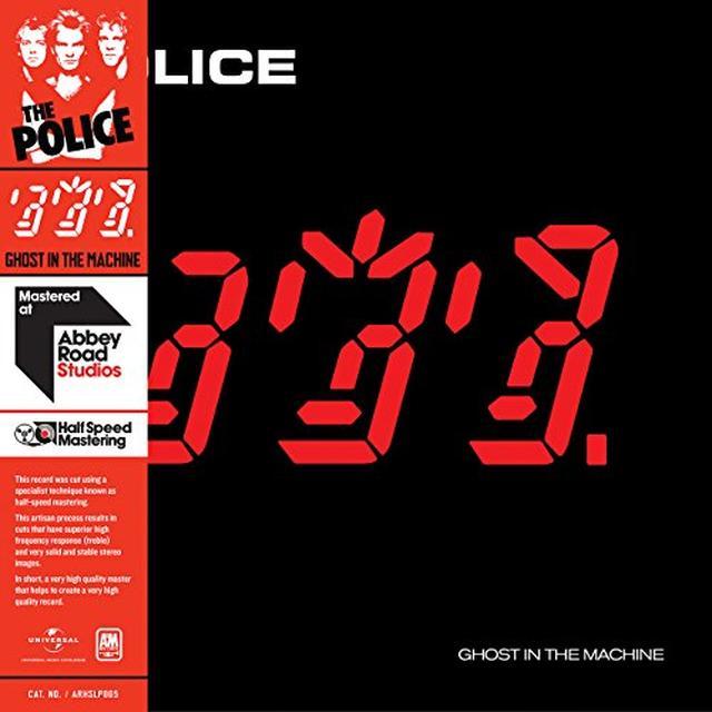 Police GHOST IN THE MACHINE - HALF SPEED (HK) Vinyl Record