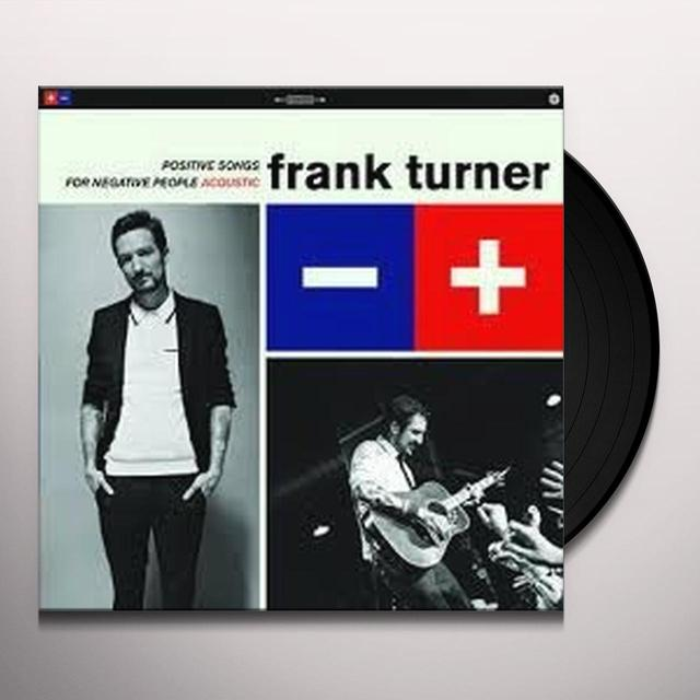 Frank Turner POSTIVE SONGS FOR NEGATIVE PEOPLE Vinyl Record