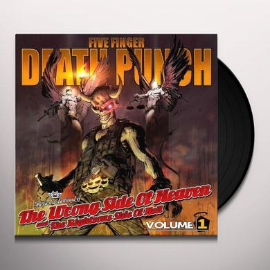 Five Finger Death Punch WRONG SIDE OF HEAVEN & THE RIGHTEOUS SIDE OF HELL Vinyl Record