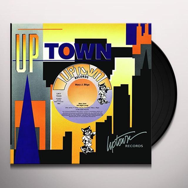 Mary J. Blige / Janei MARY JANE/SATURDAY NIGHT Vinyl Record - Japan Import