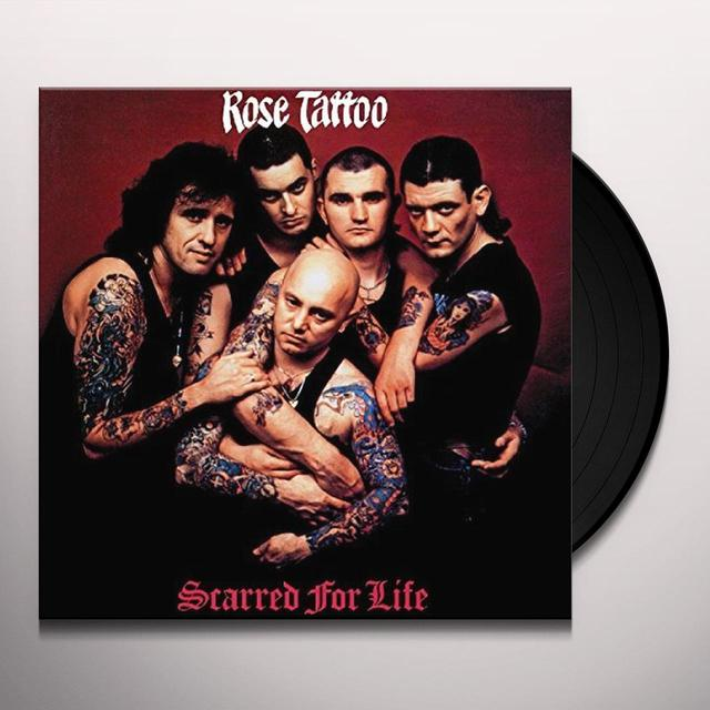 Rose Tattoo SCARRED FOR LIFE Vinyl Record