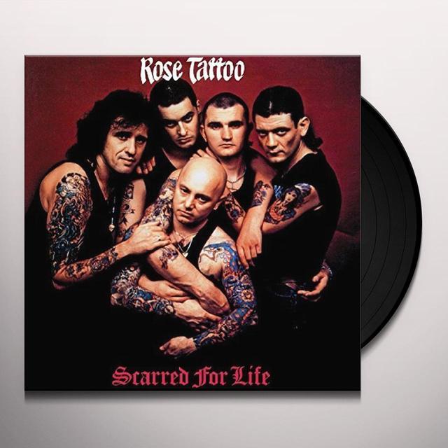 Rose Tattoo SCARRED FOR LIFE  (GER) Vinyl Record - 180 Gram Pressing