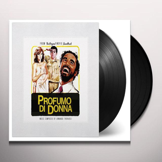 Armando Trovaioli PROFUMO DI DONNA (YELLOW) / O.S.T. Vinyl Record - 180 Gram Pressing, Yellow Vinyl