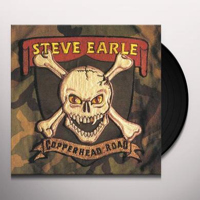 Steve Earle COPPERHEAD ROAD Vinyl Record