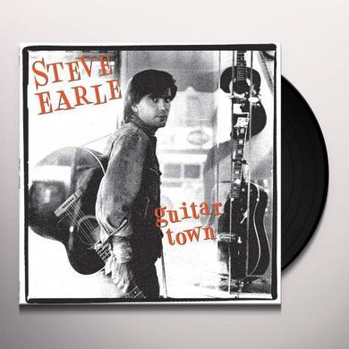 Steve Earle GUITAR TOWN Vinyl Record