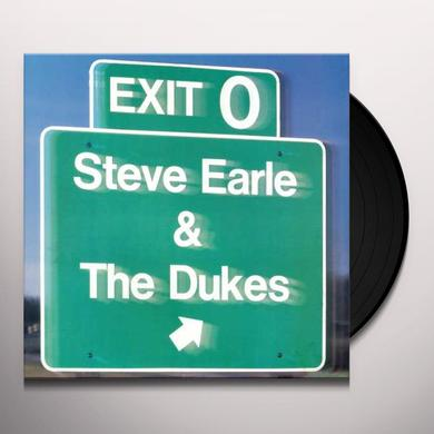 Steve Earle & The Dukes EXIT O Vinyl Record