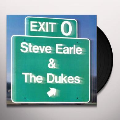 Steve Earle & The Dukes EXIT O Vinyl Record