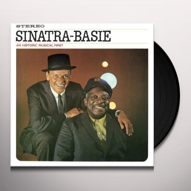 Frank Sinatra / Count Basie SINATRA-BASIE: AN HISTORIC MUSICAL FIRST Vinyl Record - 180 Gram Pressing